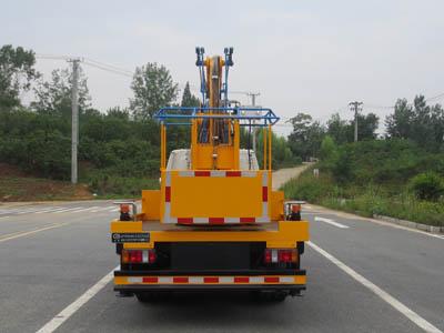 江铃13.3米蓝牌单排高空作业车